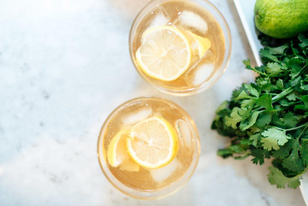 bourbon recipes bourbon lemon and tonic southern cocktails