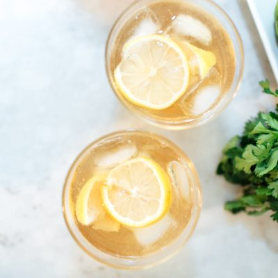 bourbon recipes bourbon lemon and tonic southern cocktails