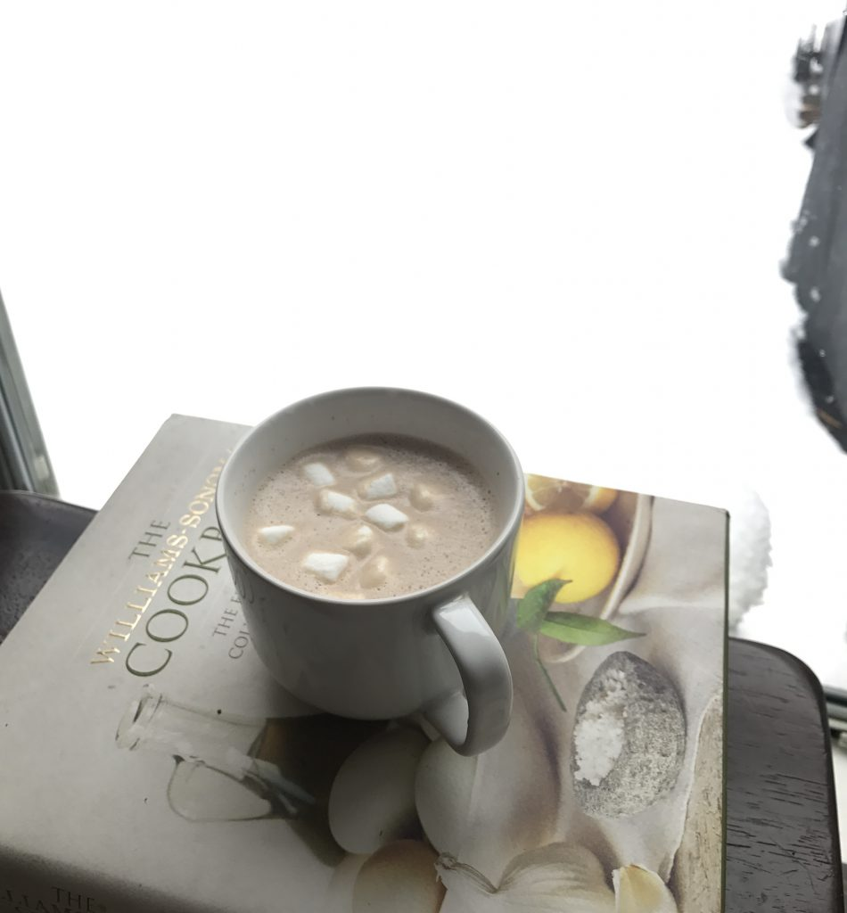 Alabama Snow day hot chocolate recipe