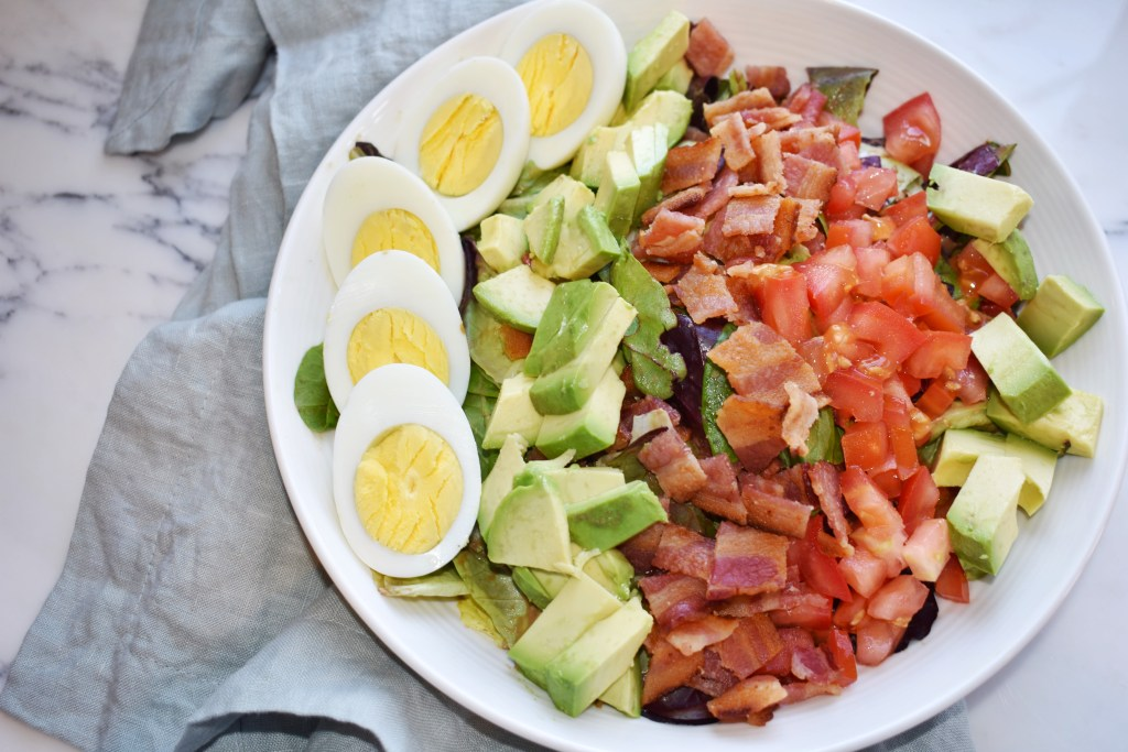 cobb salad with balsamic dressing recipe