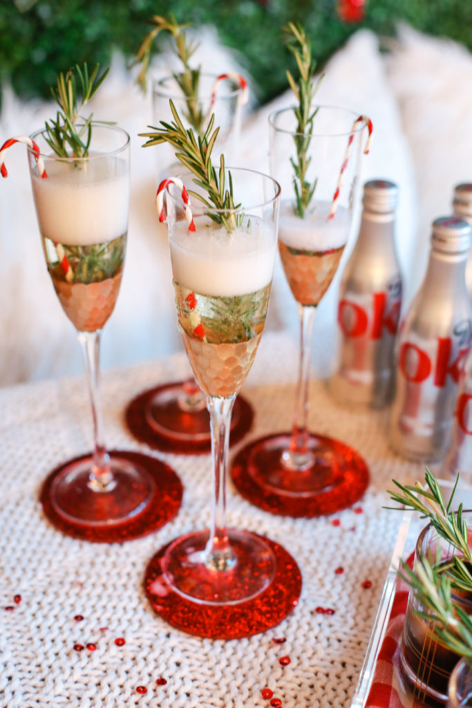 Christmas Party Drink Station | The Southern Style Guide