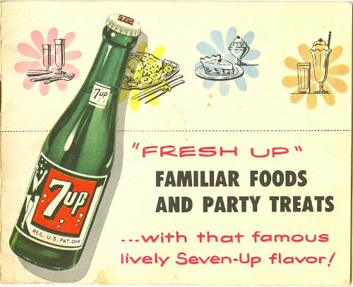 7-Up Recipe Book from 1953 (1/6)