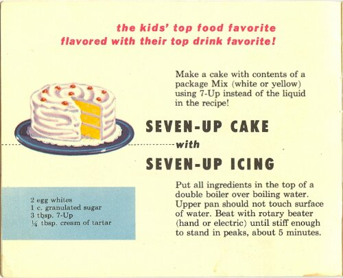 7-Up Recipe Book from 1953 (6/6)