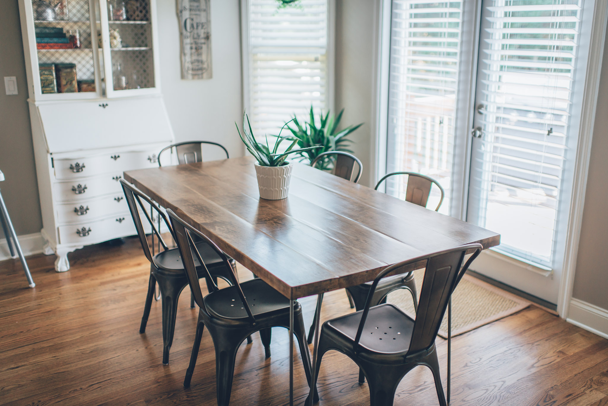 diy kitchen tables laminate tile flooring hairpin leg table the southern trunk