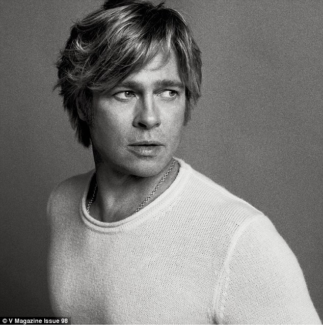 This is from a recent potoshoot for V magazine. Can you believe this guy is 52 years old??