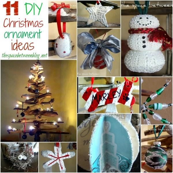 Christmas Ornament Ideas Homemade