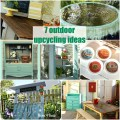 Outdoor upcycling ideas the space between