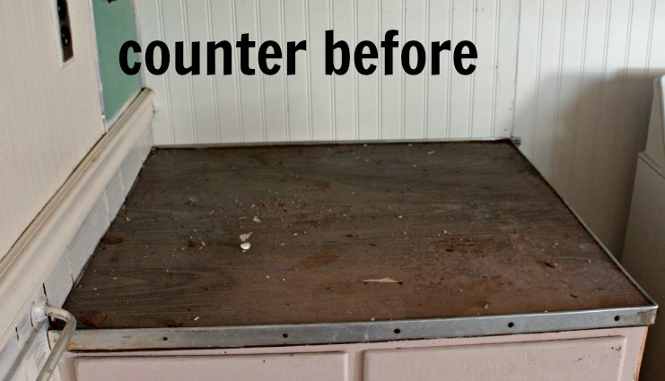 my application for dirtiest jobs rustoleum countertop
