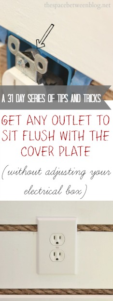 Outlet Cover Not Flush With Wall : outlet, cover, flush, Secret, Getting, Outlets, Flush, Outlet, Cover, Space, Between