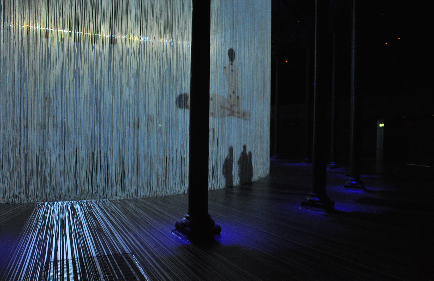 Ron Arads 360 degree installation Curtain Call opens at