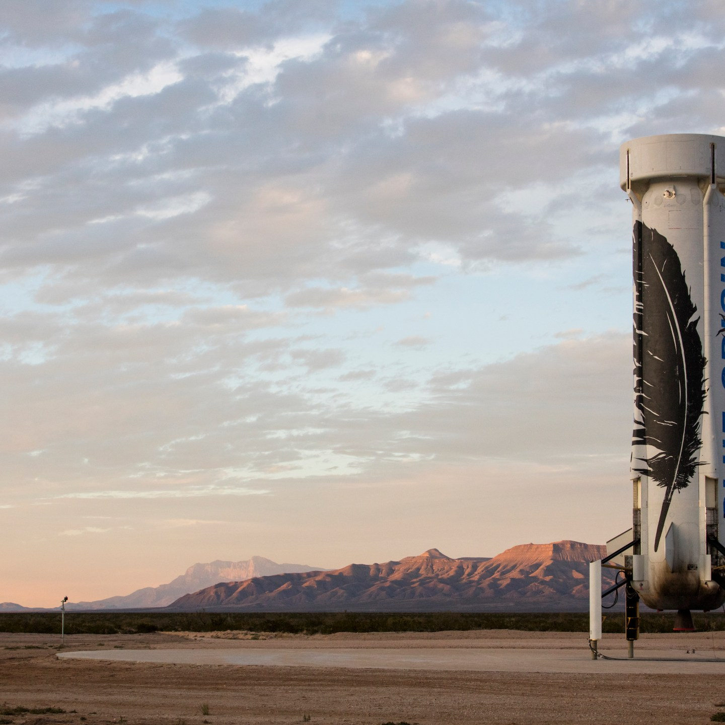 Blue Origin brings Science Fiction to Life