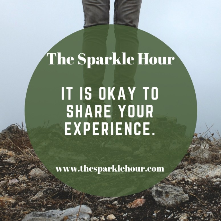 It is okay to share your experience.