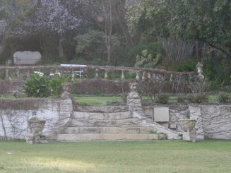 The Ruins - garden feature with creeper