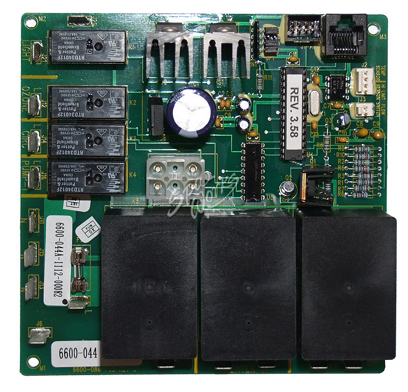 Jacuzzi Spa Replacement Circuit Board For 286