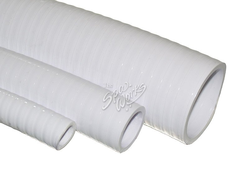 3/4 INCH WHITE PVC FLEX PIPE