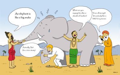 Story of blind Men & Elephant