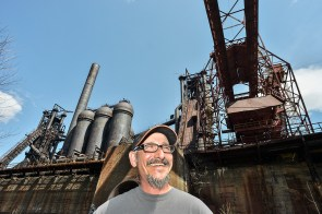 Ron Baraff is director of museum collection and archives at Rivers of Steel, the organization that oversees the furnaces now.
