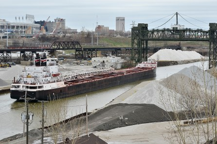 The river is still used as a shipping route, but not to the degree it once was.