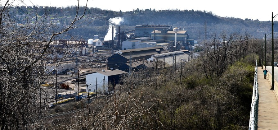 The Mon Valley Works of U.S. Steel.