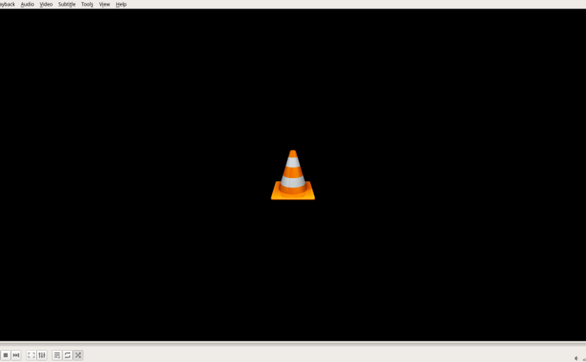 VLC missing title bar and window decorations on Fedora 27