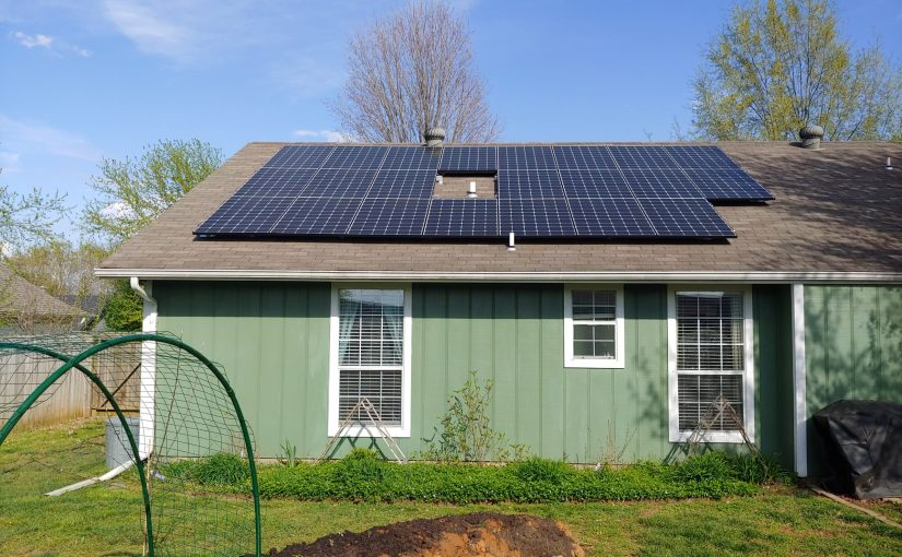 Home Rooftop Solar Panels in Arkansas
