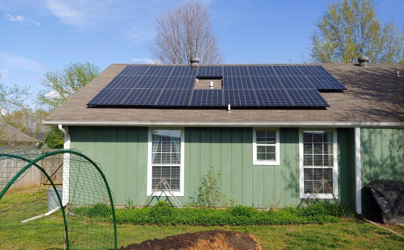 Home Rooftop Solar Panels in Arkansas