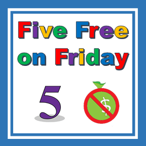 Five Free on Friday blue