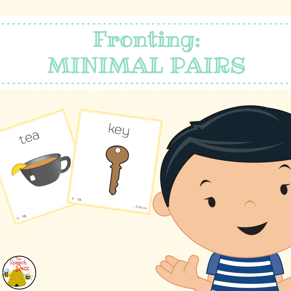 Fronting and the importance of Minimal Pairs