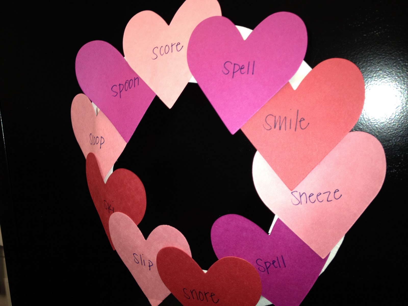 Valentines Day In The Speech Room