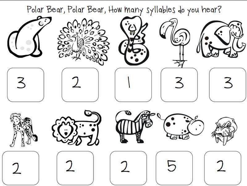 Polar Bear, Polar Bear {Book Companion with Freebie