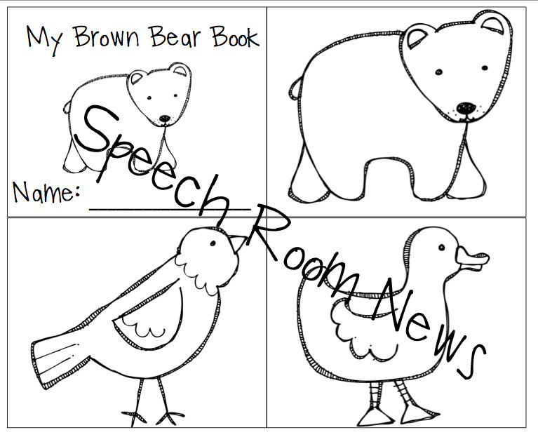 Brown Bear, Brown Bear {Preschool Book Companions