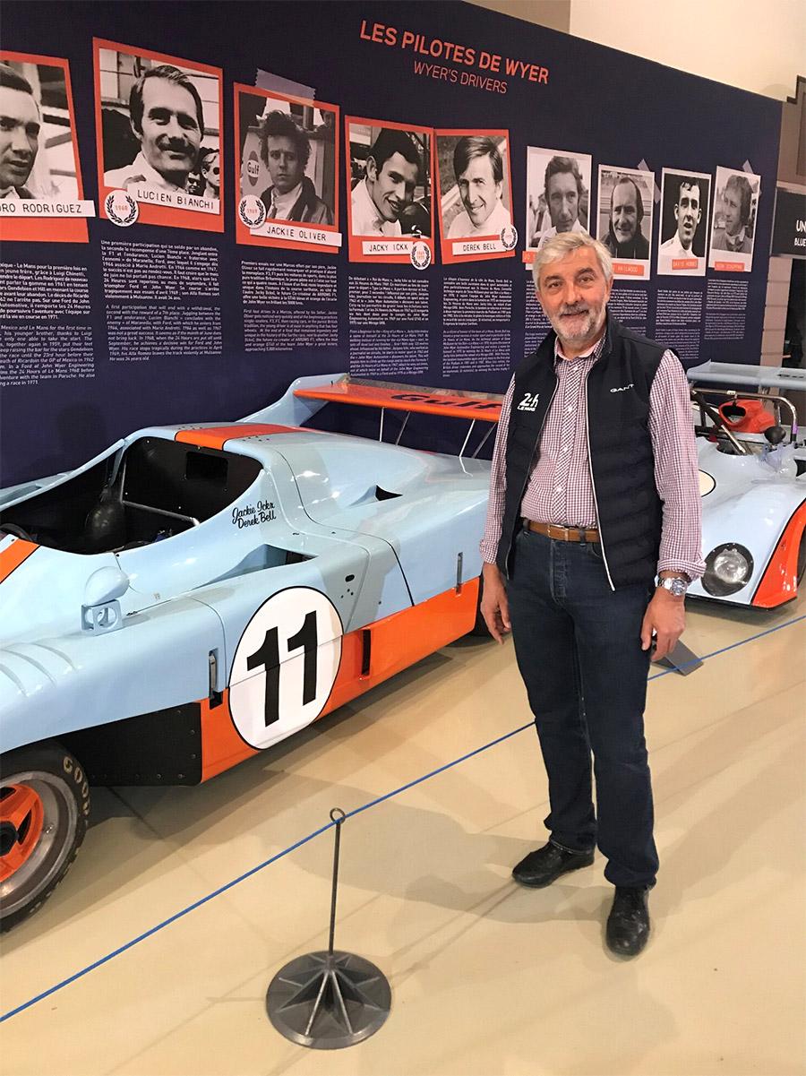 Visiter le musée de l'automobile du Mans