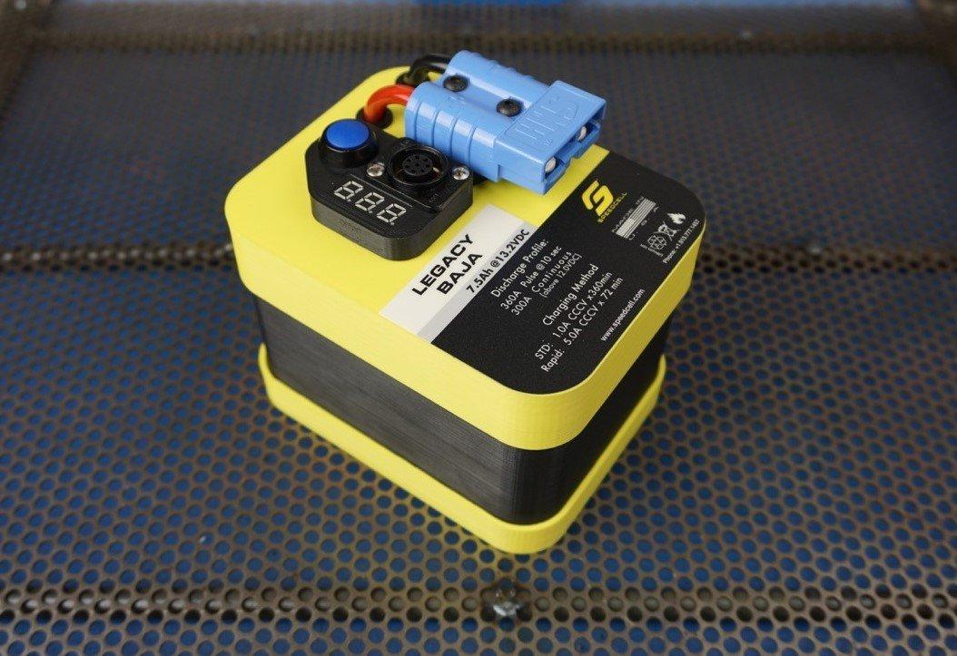 speedcell legacy 7 5ah baja battery with universal ring terminal rh thespeedmerchant net