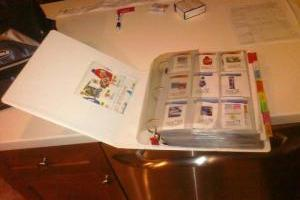 Coupon Binder Organization & Supplies