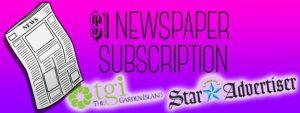 newpaper subscription