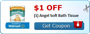 HOT $1 Angel Soft Bath Tissue + More Coupons