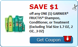 Garnier Fructis Hair Care & $4/1 Centrum Vitamints Coupons