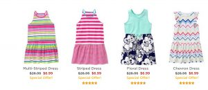 Gymboree – FREE Shipping Today ONLY (No Minimum) + Sale Dresses from $6.99 (Regular $26.95)