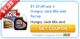 Hungry Jack Pancake Mix & Syrup Coupons + Target Deal Scenario