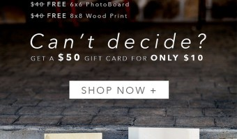 PhotoBarn – $40 to Spend how you want = $50 Gift Card for $10
