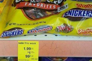 Walgreens – Mars Chocolate Candy $.49 Each