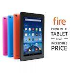 Amazon – Fire Tablet 7″ Display 8 GB Wi-Fi $33.33 (Regular $49.99)