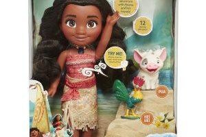 Disney Moana Singing Adventure Doll with Friends $22.99 (Regular $34.99)
