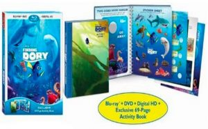 Best Buy – Finding Dory DVD & Activity Book $12.99 Shipped!