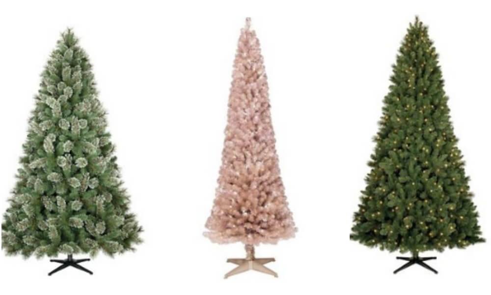 Target - 50% Off Christmas Trees - 3.5 Tree $13.50, 6 Foot Pre-lit ...