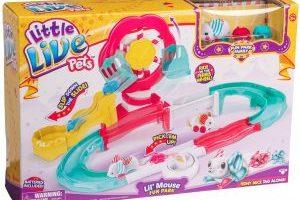 Little Live Pets S3 Lil' Mouse Fun Park Trail $11.72 (Regular $32.99)