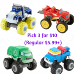Fisher Price Nickelodeon Blaze and The Monsters Toy Cars Pick 3 for $10