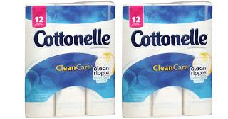 Walgreens – Cottonelle 12 Pack Toilet Paper $2.49