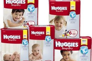 Huggies Diapers Deal Scenario – Walmart, Target, Walgreens