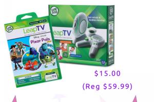 LeapFrog LeapTV Bundle $15 (Regular $59.99)